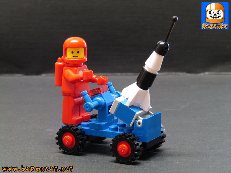 Lego Neo Classic Space Custom MOC rover