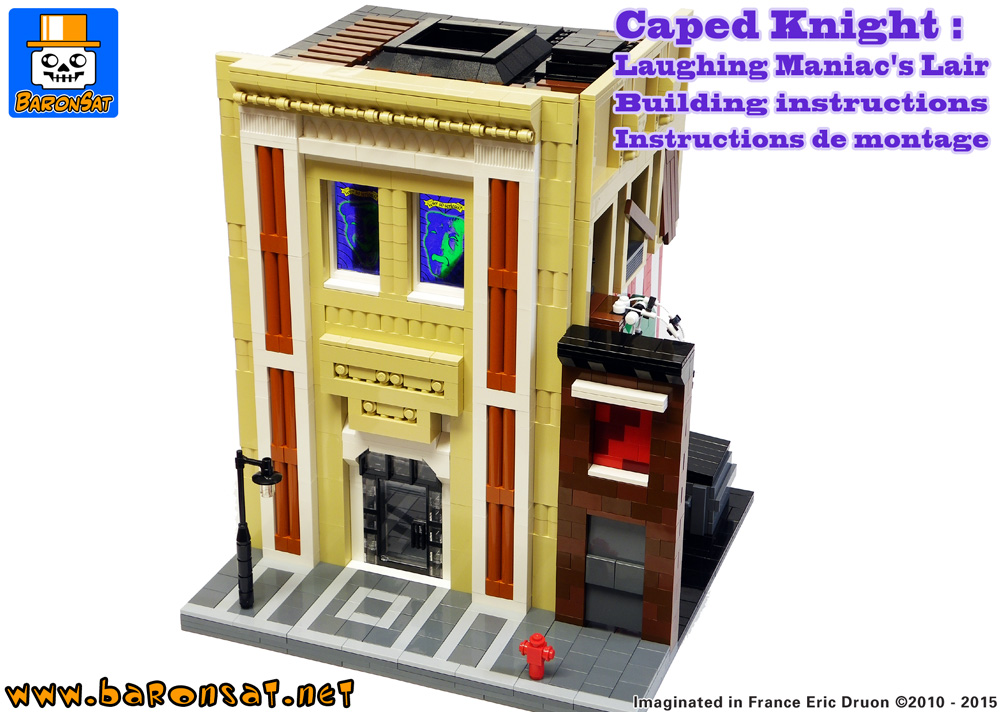 lego moc batman joker lair building instructions
