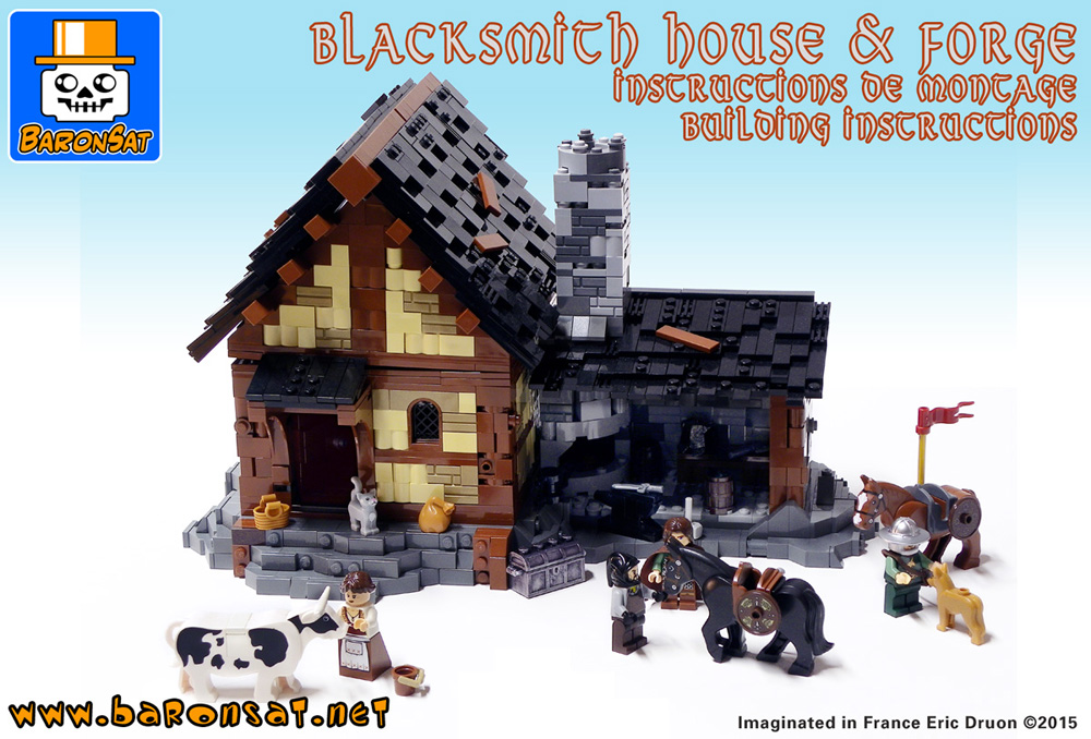 Lego Moc Building Instructions Baronsat Shopping Page Custom Brick