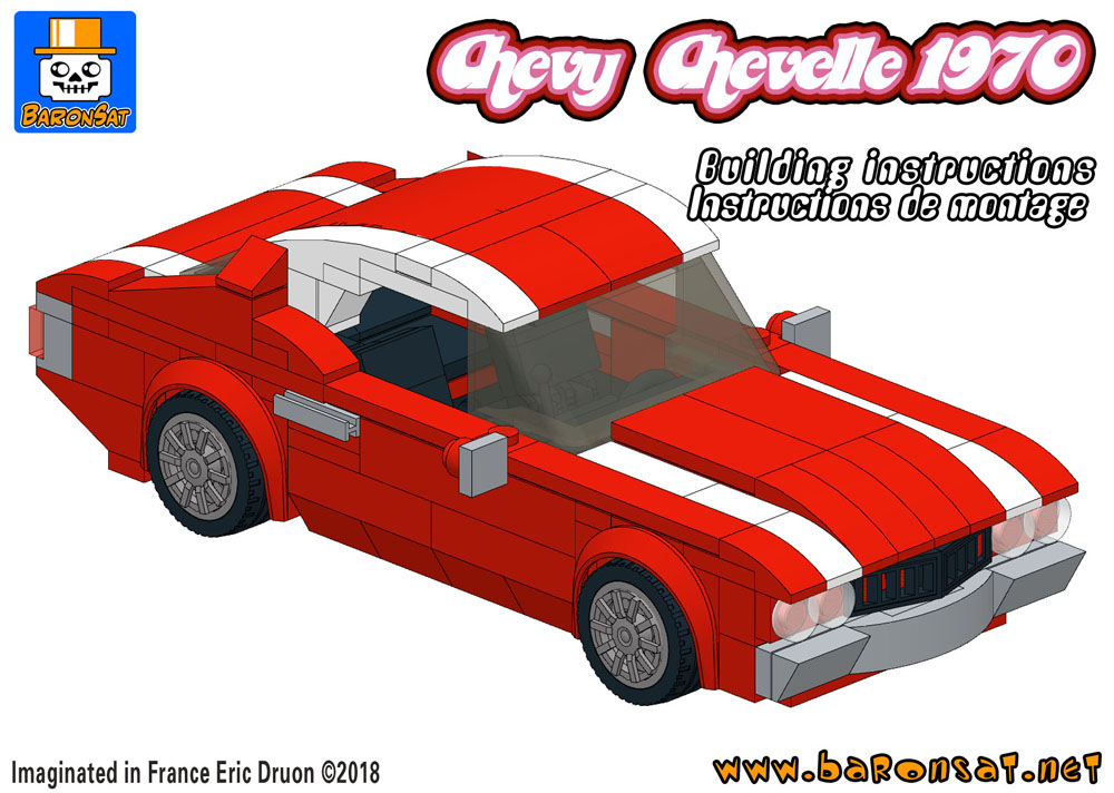 lego chevy chevelle building instructions