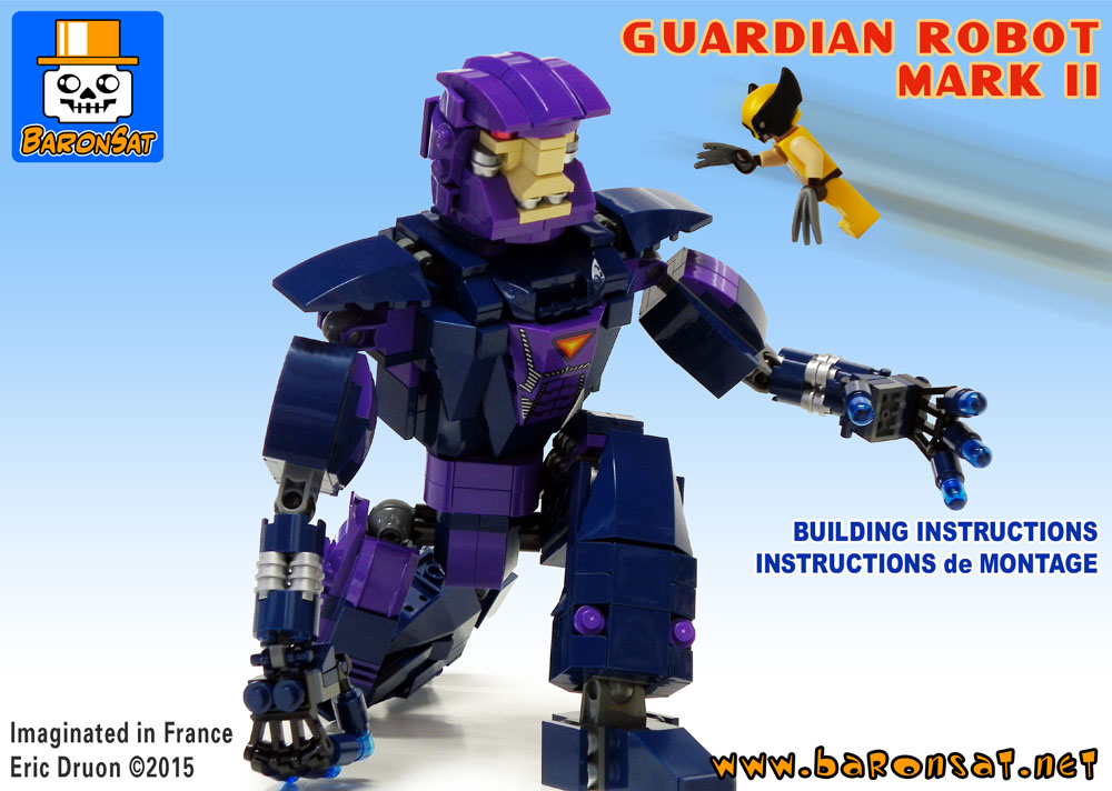 Lego Marvel Moc: Lego MOC Building Instructions BaronSat Shopping Page