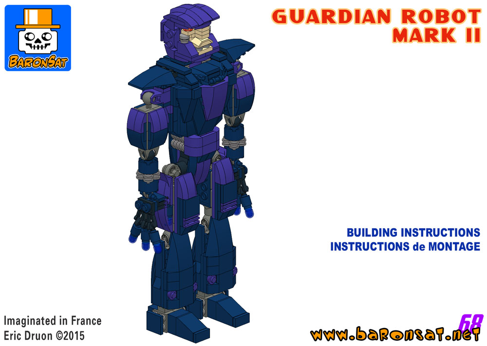 lego marvel sentinel mk2 building instructions custom moc