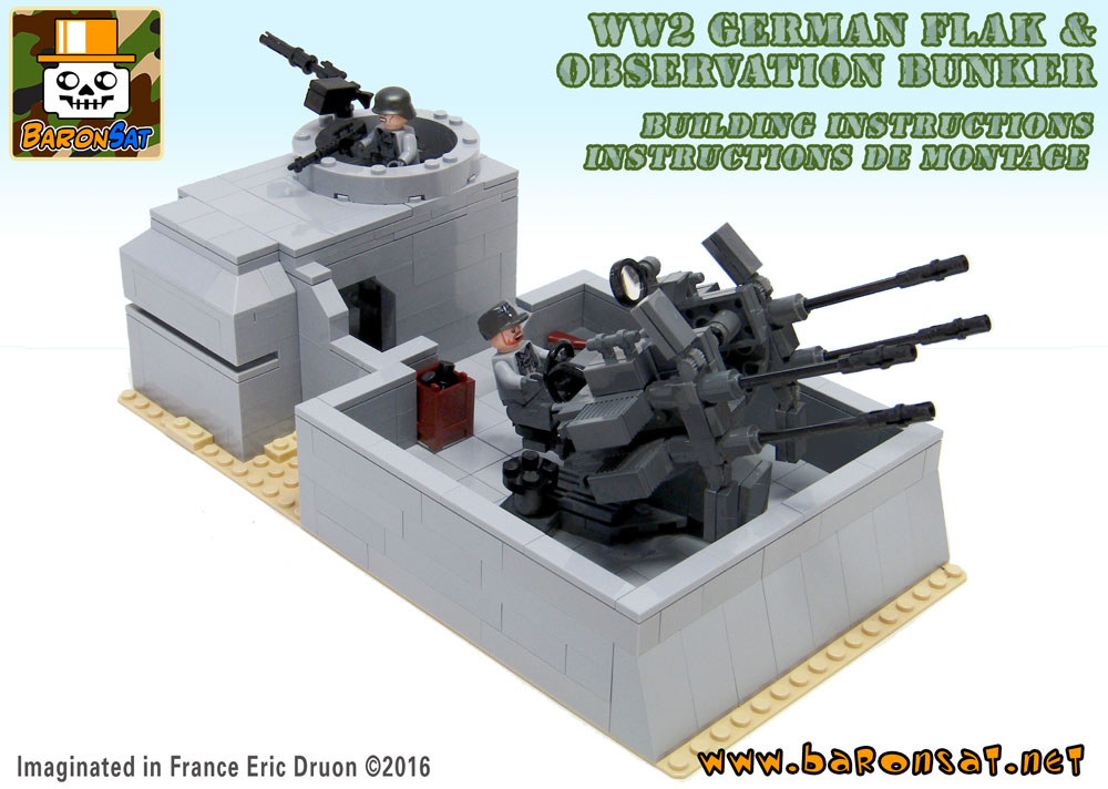 Military ww2 Lego bricks building instruction for custom models Shop