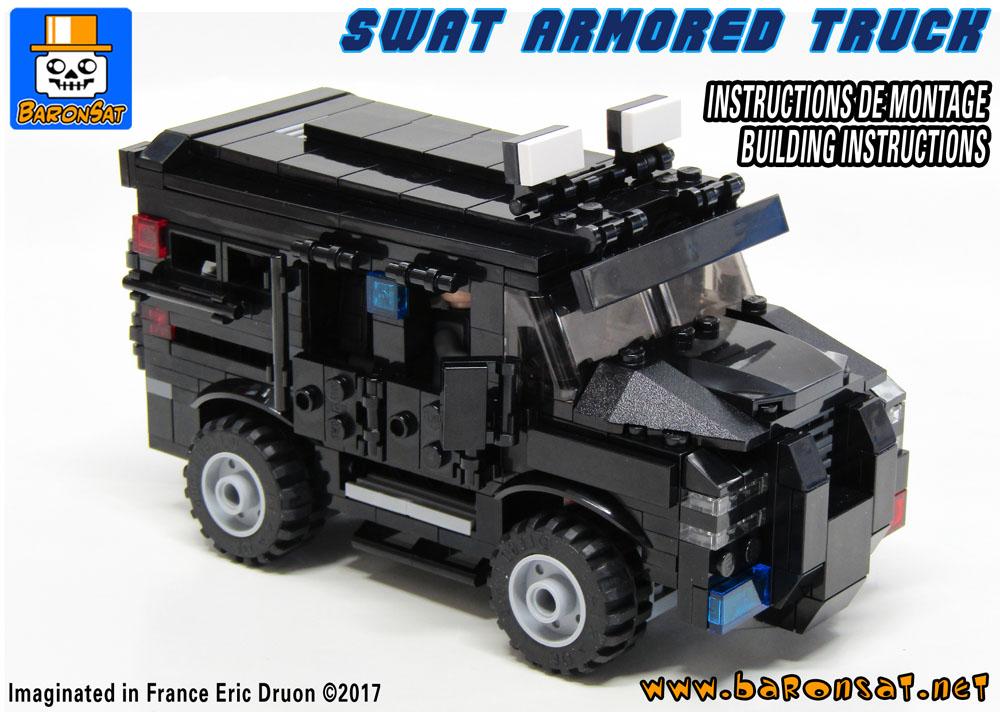 Lego MOC Building Instructions & Custom Models BaronSat