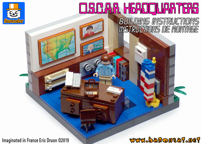 lego osi headquarters custom moc building instructions