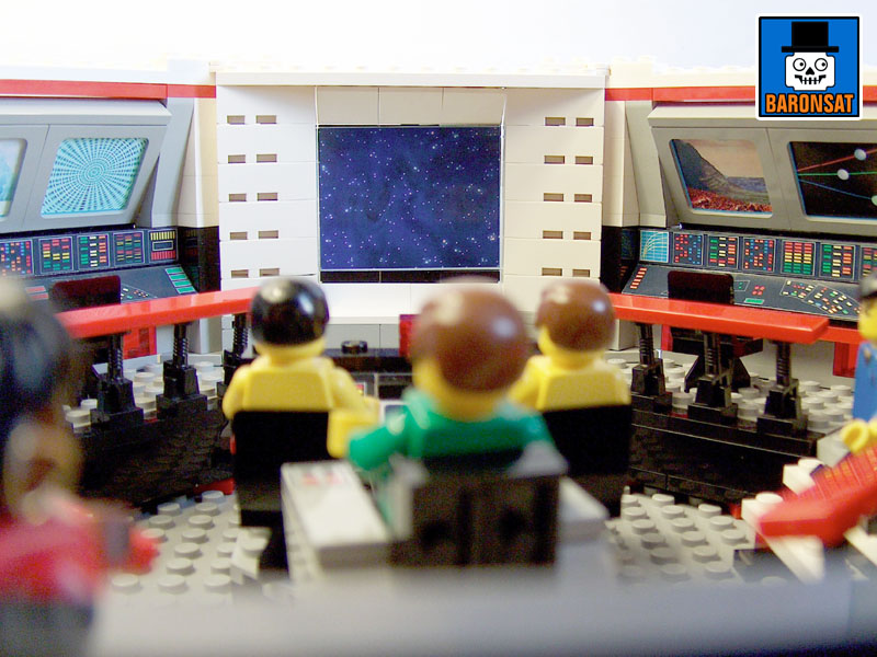 lego star trek tos main bridge custom model_7