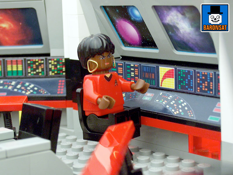 lego star trek tos main bridge custom model_6