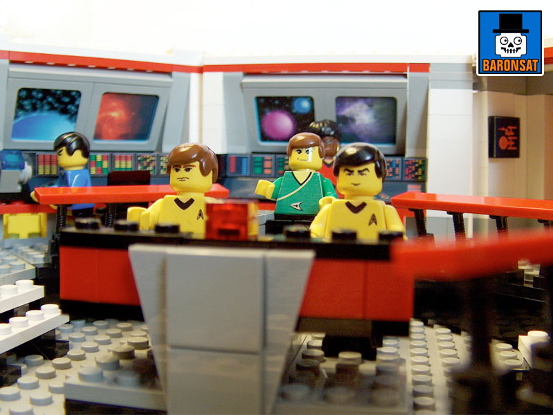 lego star trek tos main bridge custom model_4