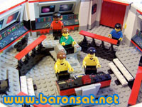 Modele Custom En Lego A Vendre Passerelle Star Trek Custom Lego