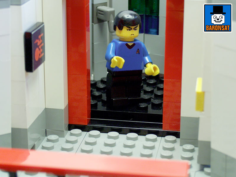 lego star trek tos main bridge custom model_5