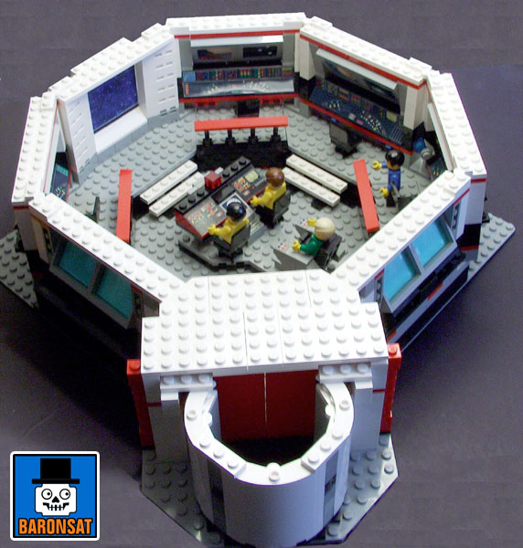 lego star trek tos main bridge custom model_2