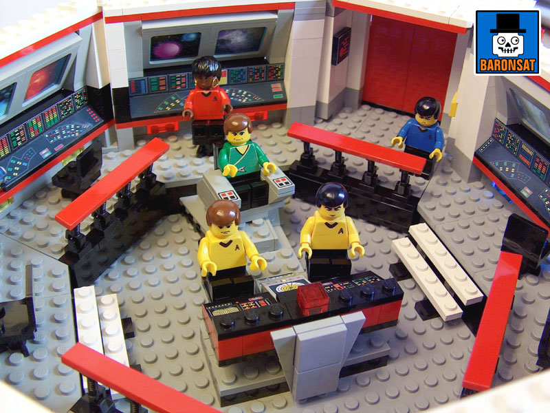 lego star trek tos main bridge custom model_3