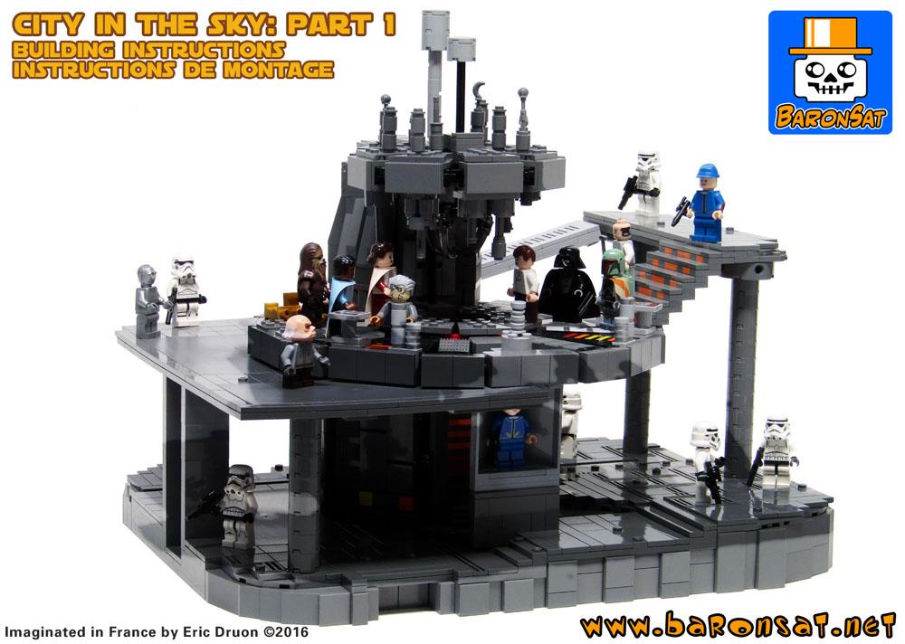 Bespin Cloud City Building Instructions Custom Model Moc Lego Bricks
