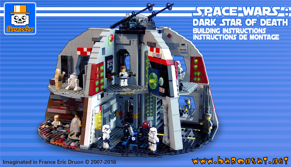 Lego Palitoy Death Star moc building instructions