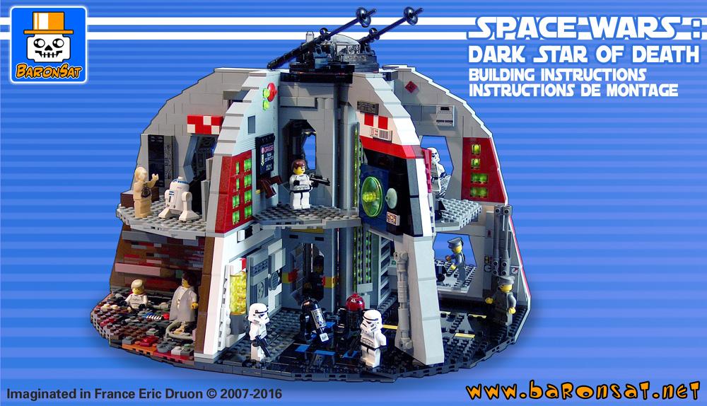 CUSTOM Model Space- Starfire Scout NLL914 LEGO MOC PDF Instructions Manual