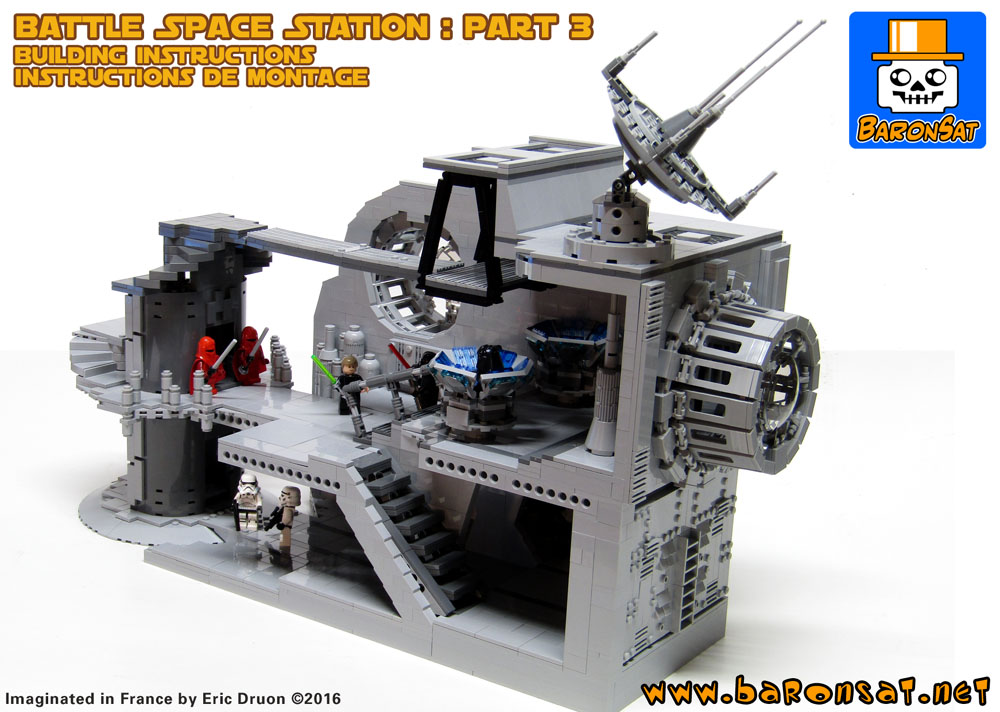 Star Wars Shop Building Instructions Custom Model Moc Lego Bricks By
