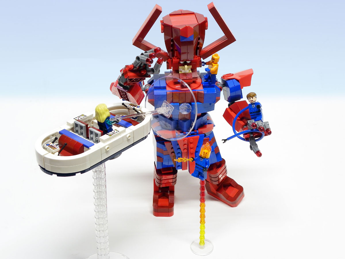 marvel super heroes custom moc models made of lego bricks