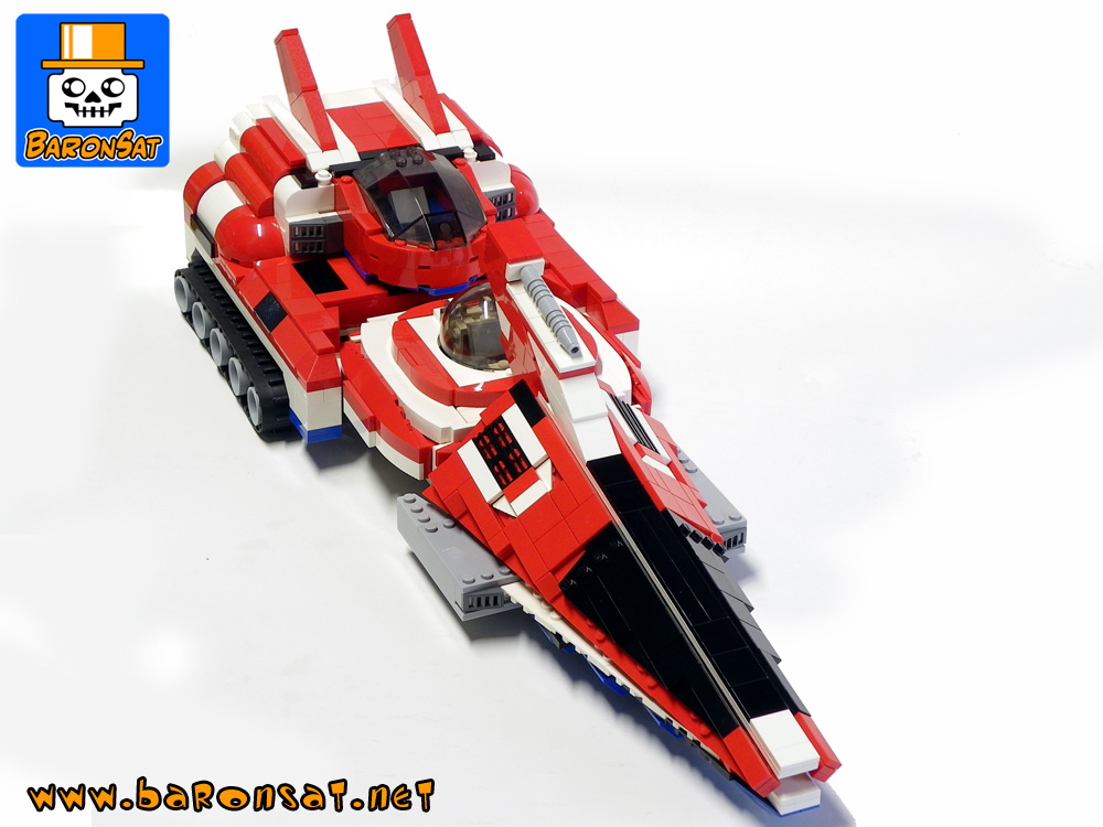japanim custom moc models made of lego bricks