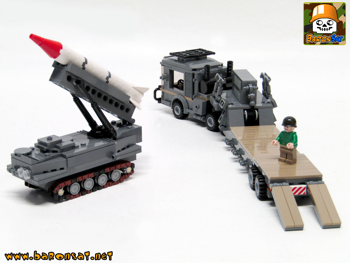 lego Missile Launcher and transporter Moc model