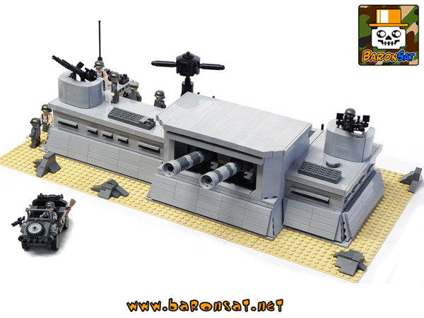 ww2 military custom moc models made of lego bricks