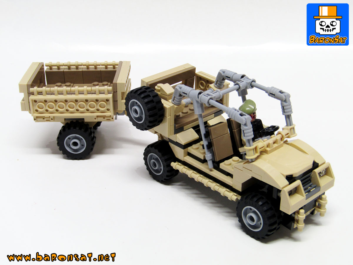 lego Polaris Tactical Vehicle Moc model