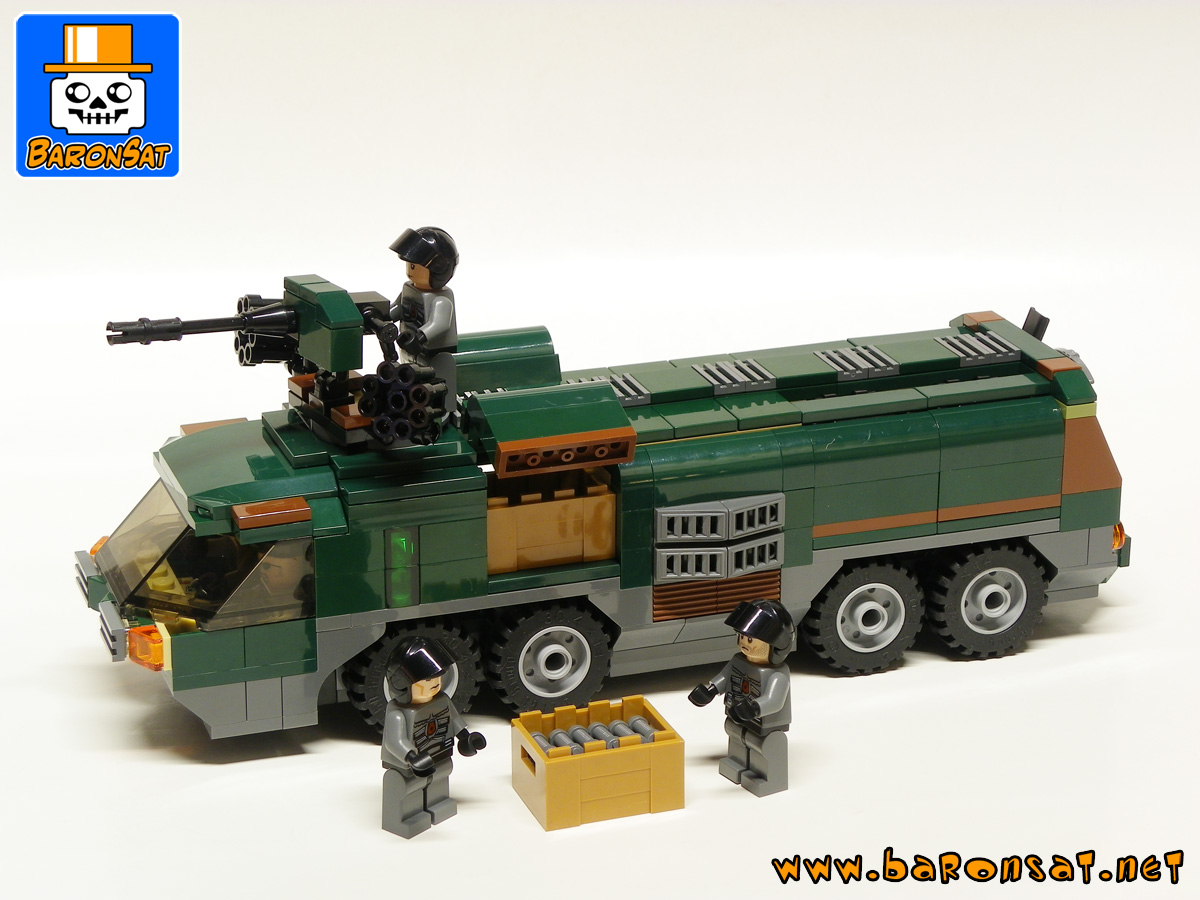 lego military 60061 custom moc model