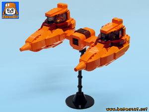 star wars esb bespin custom moc models made of lego bricks